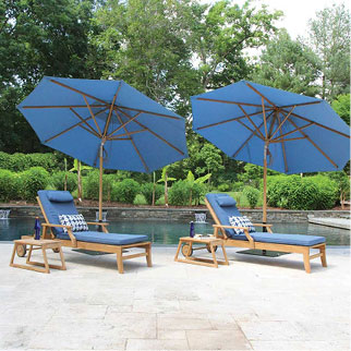 Tilting Patio Umbrellas