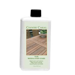 Teak water and stain guard - 1 liter.