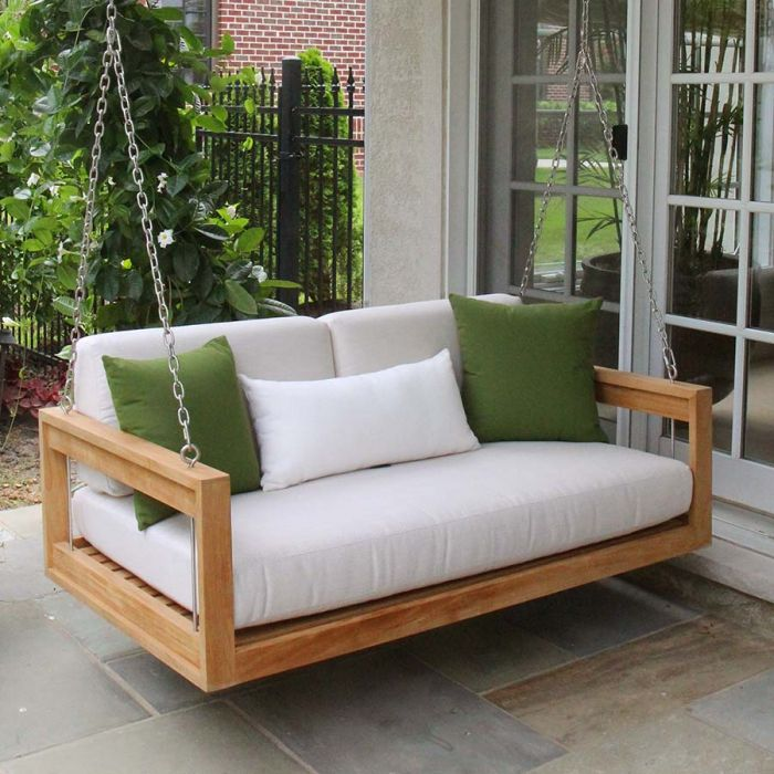Casita Outdoor Daybed Porch Swing