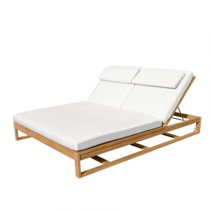 Double Outdoor Sun Lounger Off 68, Double Chaise Lounge Outdoor