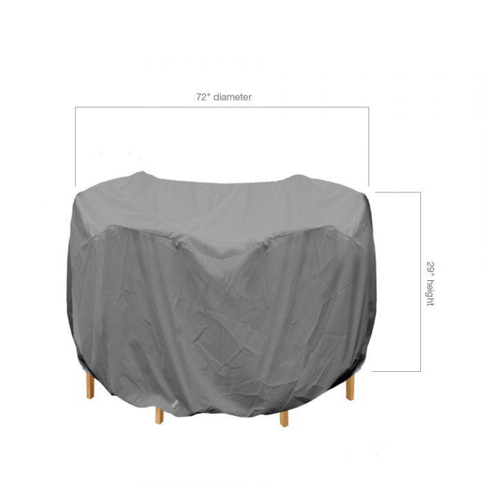 Round Patio Table And Chairs Cover, Small Round Garden Table Cover