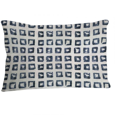 Pillow 14 X 20 In Lumbar In Kindle Sapphire