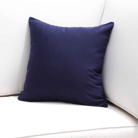 Navy Blue Outdoor Throw Pillows 16 In