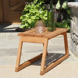 Aspen teak side table outdoor