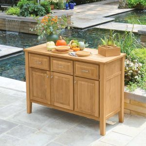 Berwick teak sideboard with teak top.