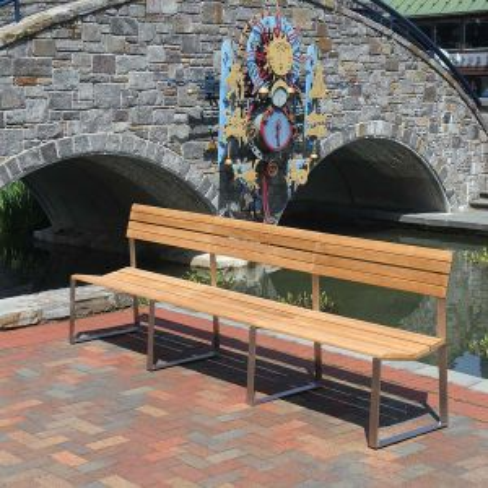 Bond 9 ft armless bench.