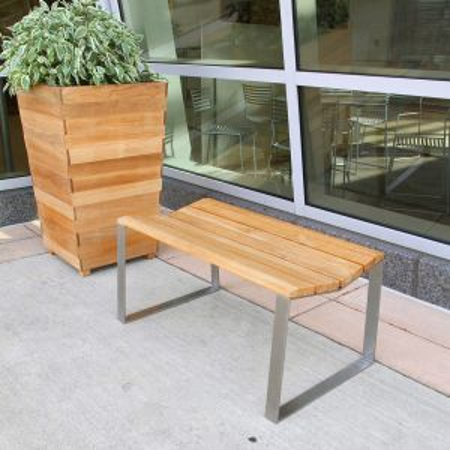 Bond 3 foot backless bench.