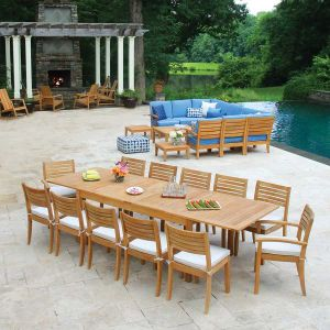 Teak Outdoor Dining Tables Country