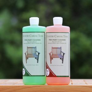 2 part teak cleaner - 1 quart