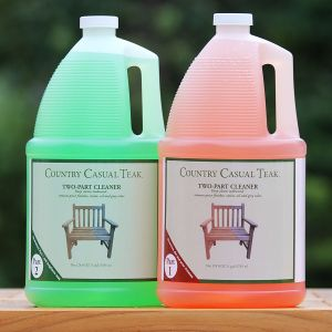 Two Part teak cleaner - 1 gallon
