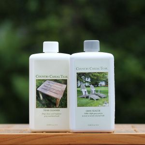 Teak Clean and Gray Sealer Kit - 1 Liter.