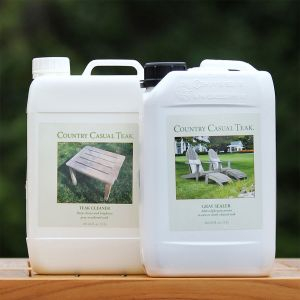 Gray Sealer & Teak Cleaner Kit - 3 liter (pack of 2).