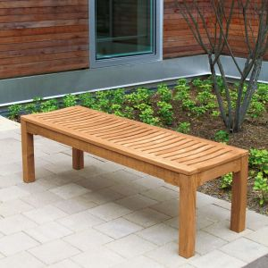 Foxhall 4 ft. 7 in. outdoor backless bench.