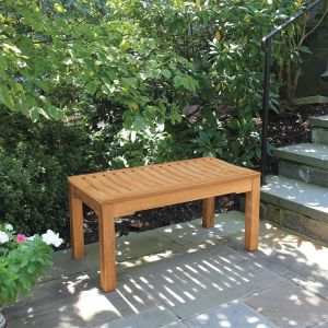 Foxhall 3 ft. small outdoor backless bench.