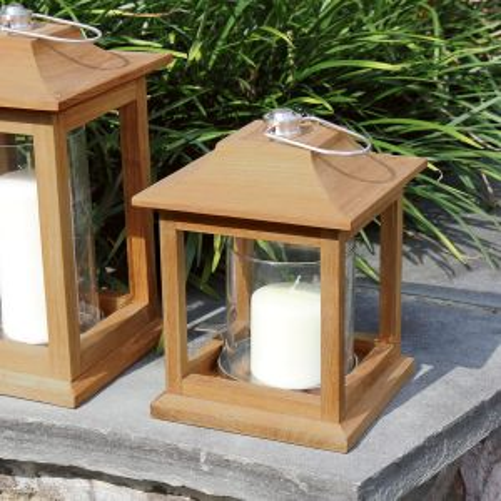 Harborside small candle lantern.