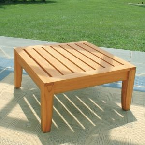 outdoor teak side tables - Calypso side table