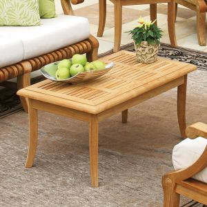 Palisade small teak coffee table