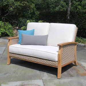 Teak Outdoor Sofas & Loveseats - Enjoy Refined Comfort