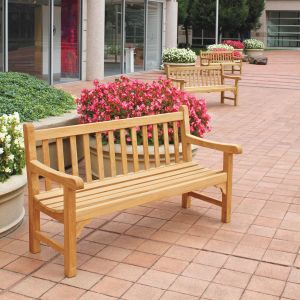 Windermere 5 ft. teak wood benches