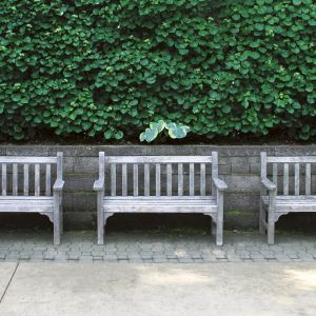 Windsor 4 ft. teak benches