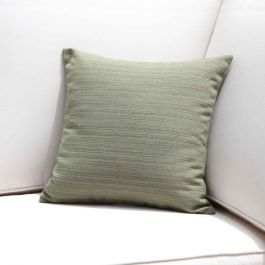 Pillow - 16 in square in Dupione Moss