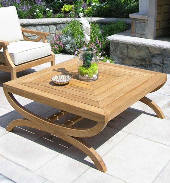 Fiori Teak Coffee Table