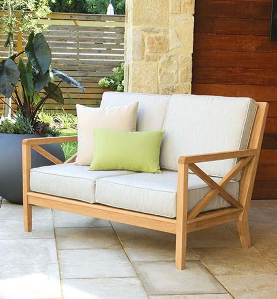 Apex teak outdoor lounge furniture