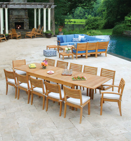 Calypso Dining Collection Calypso Dining Collection - Teak Outdoor And Patio Furniture - Country Casual Teak