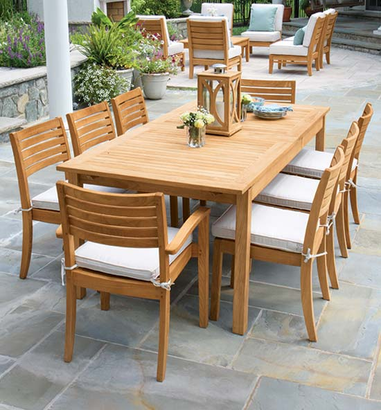 Calypso Teak Wood Furniture Collection