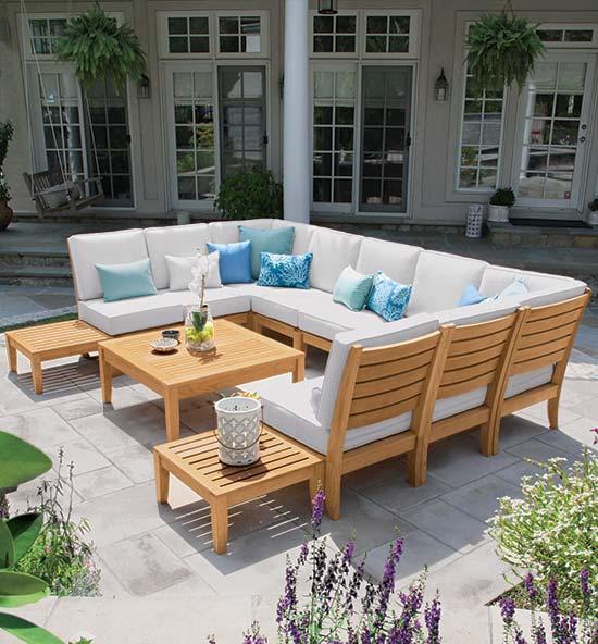 Calypso Teak Patio Furniture Sets