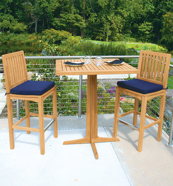 Teak Bar Stools & Tables