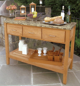 Teak Buffet Tables