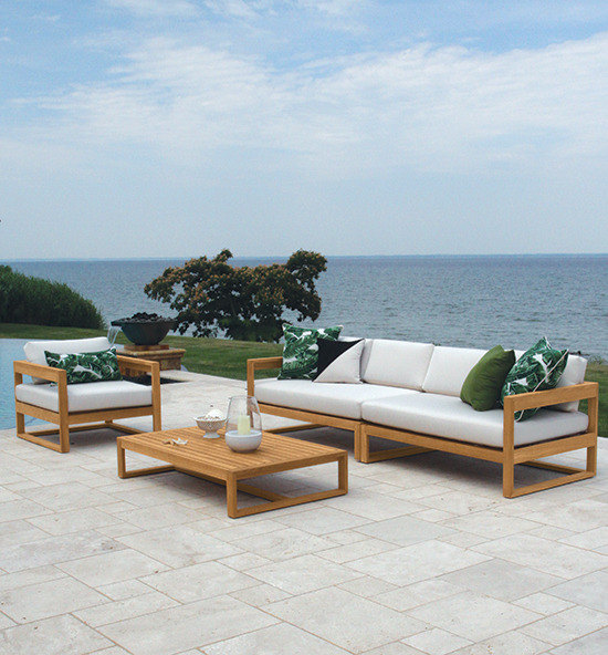 Teak Patio Furniture - Lounge Collections