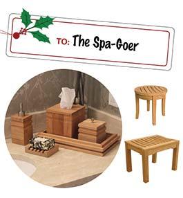 Teak Spa and Bathroom Gifts