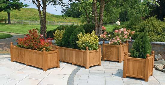 Estate Teak Planter Collection