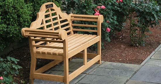 Teak Lutyens Bench Collection