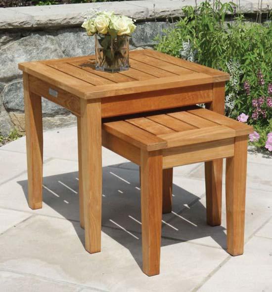 Teak Patio Furniture - Teak Side Table
