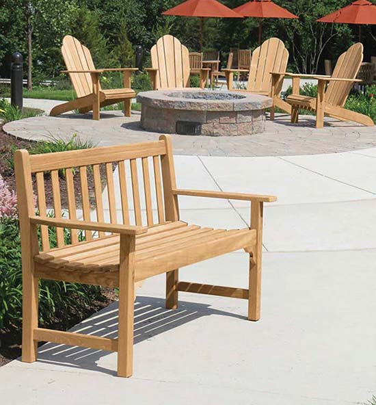 Outdoor Teak Furniture - Coventry Teak Benches