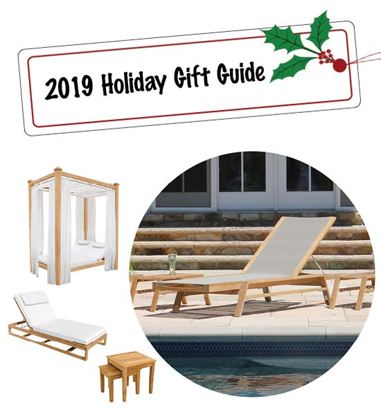 Teak Gifts - 2019 Holiday Gift Guide