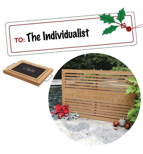 Engravable Teak Gifts