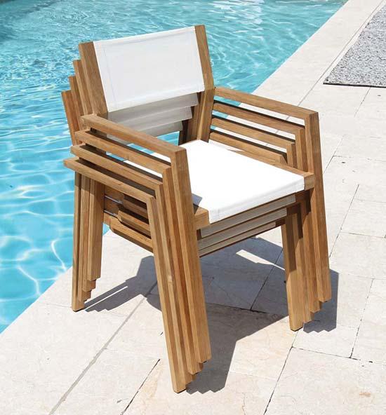 Teak Patio Furniture - Teak Dining Chairs