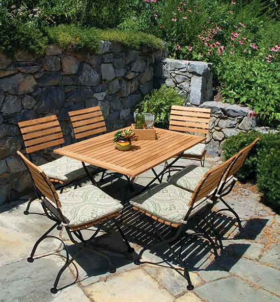 Vineto Teak Patio Dining Sets