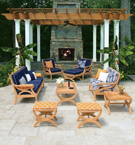 Fiori Outdoor Teak Furniture Set