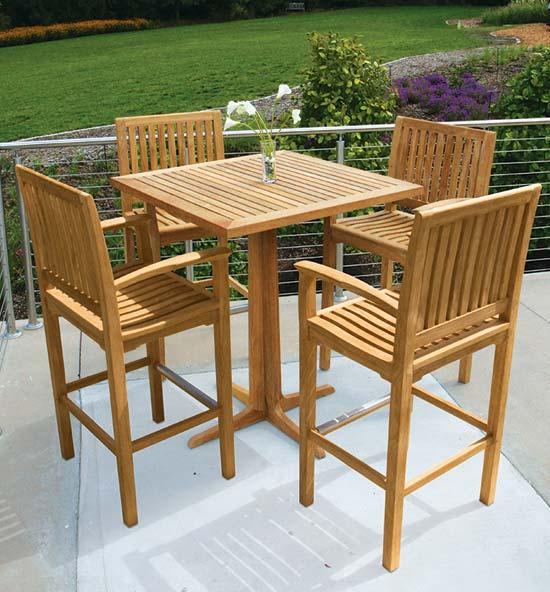 Foxhall teak outdoor furniture