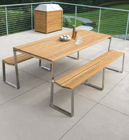 Teak Picnic Tables