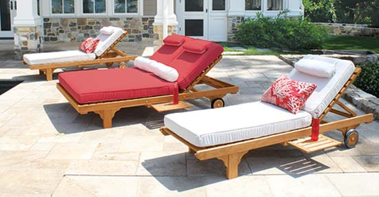 Teak Pool Furniture Collections