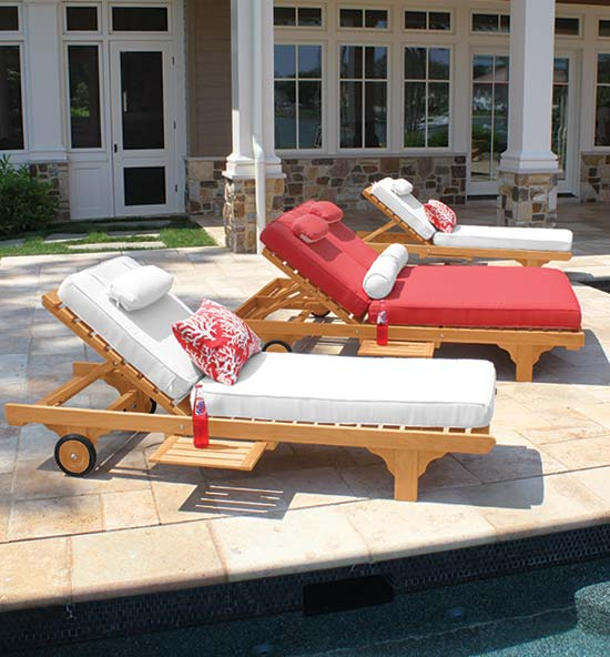 Teak Furniture Poolside Collections