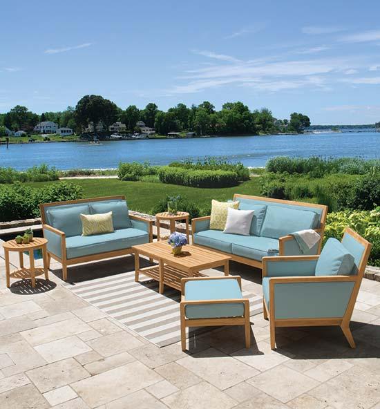Salon Teak Outdoor Furniture Collection