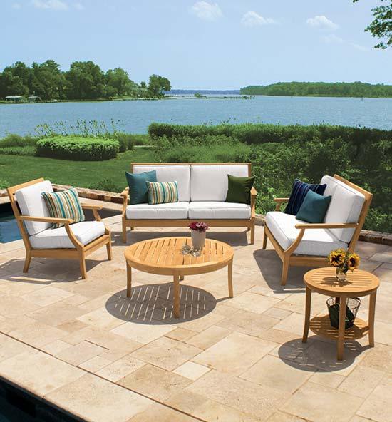 Seneca Teakwood Patio Furniture