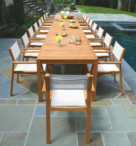 Summit Outdoor Teak Dining Sets
